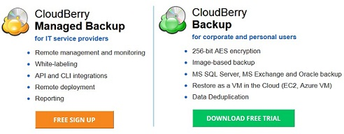 CloudBerry lab backup license discount coupon