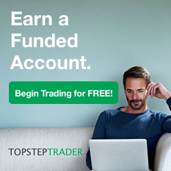TopstepTrader promo code and review
