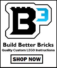 Build Better Bricks lego coupon code