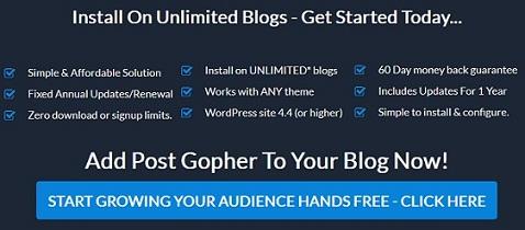 post gopher plugin discount code