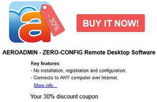 download aeroadmin pro coupon code for free