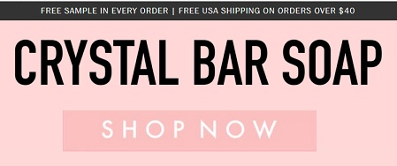 crystal bar soap discount code