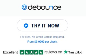 debounce.io coupon code for free credits