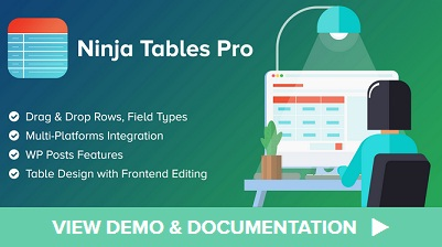 wp manage ninja tables pro coupon code