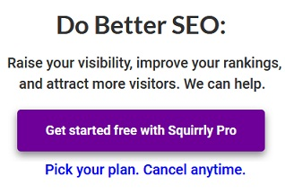 Squirrly SEO coupon code