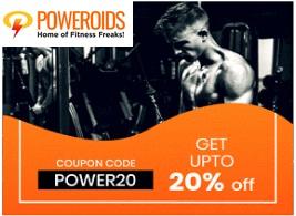 poweroids 20 off coupon code