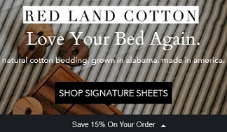 red land cotton sheets coupon code