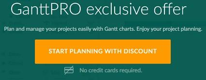 GanttPRO student coupon code