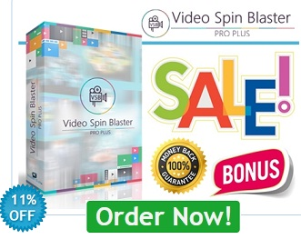 Video Spin Blaster Pro plus 2.0 coupon code