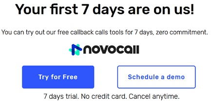 Novocall review and coupon code