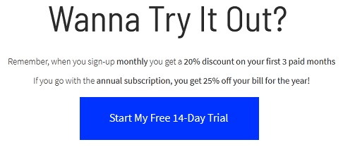 get unbounce free trial discount