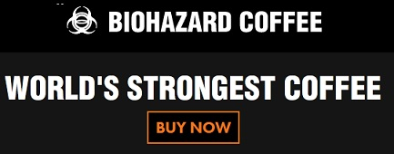 biohazard coffee pack discount code logo