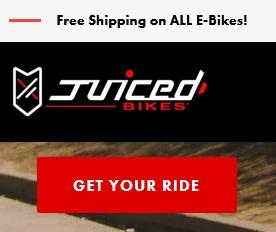 juicedbikes coupon code logo