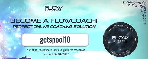 FlowCode promo code logo