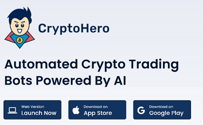 cryptohero promo code logo